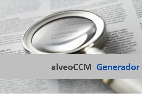 Nou motor de construcció de contractes alveoCCM-generador