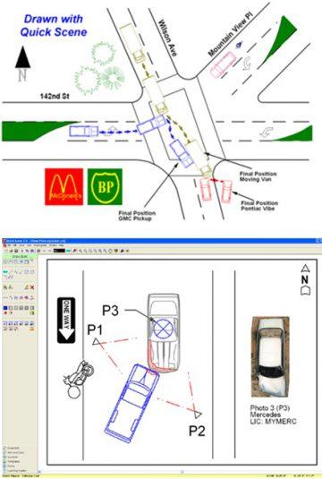 QuickScene, la herramienta elegida por la Policía de Cataluña para la diagramación de accidentes de tráfico