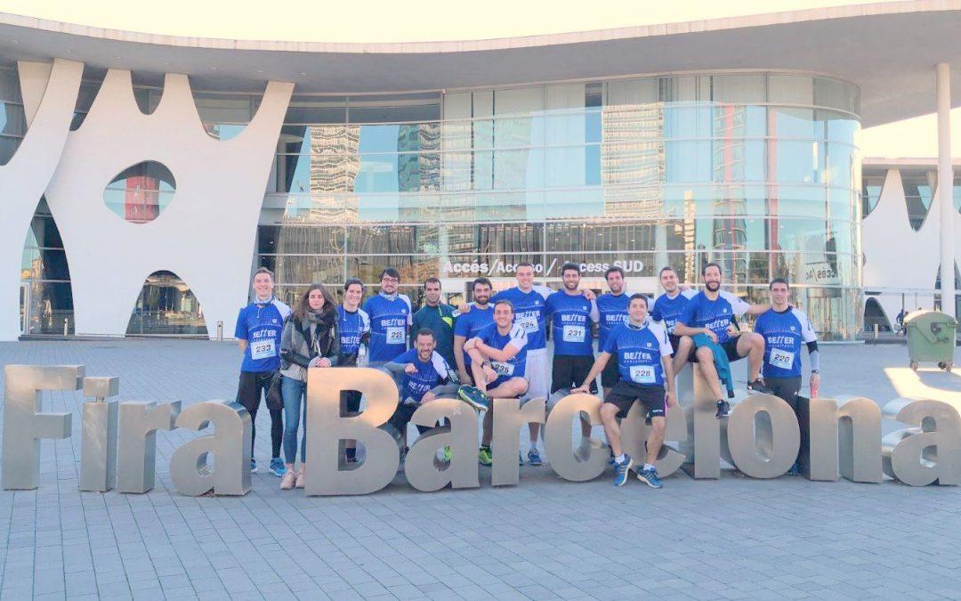 """Our team in """"Cursa de les Empreses"""""""